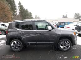 2016 jeep renegade limited 4x4 in granite crystal metallic photo