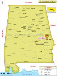 Amtrak Usa Map by Where Is Auburn Located In Alabama Usa