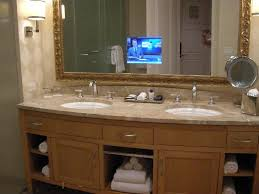 Hotel Bathroom Mirrors by Tv In Bathroom Mirror Picture Of Trump International Hotel Las