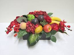 fruit flower arrangements flower arrangements hostwin