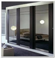 Mirror Closet Door Repair Mirrored Closet Doors In Style With X Trim Contemporary Room