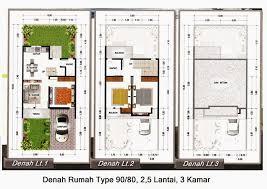 desain rumah lebar 6 meter 65 desain rumah minimalis 5 x 6 lantai 1 dan 2 mewah