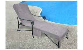 Chaise Lounge Terry Cloth Covers Chaise Lounge Cover Towel With 10