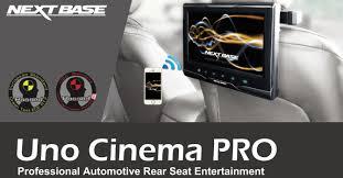 uno cinema pro nextbase rear seat monitors dash cams dvr