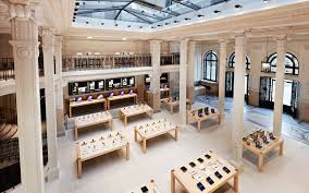 paris apple store the flagship apple store in paris is one of the world s most unique