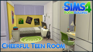 the sims 4 room building cheerful teen room youtube