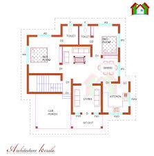model house plans peaceful design 6 kerala model house plans nadumuttam 1200 sq ft