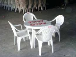 plastic round table and chairs round plastic tables and chairs portable plastic folding round table