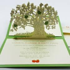 amazing wedding invitations rectangle potrait green formal