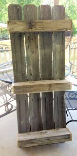 Pictures For The Bathroom Wall Remodelaholic Build An Easy Rustic Bathroom Shelf
