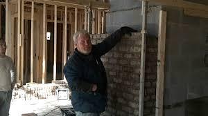 masonry fireplace construction youtube