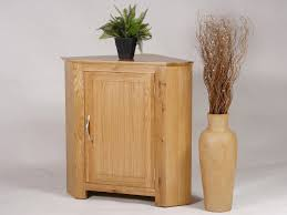small oak corner cupboard 13754