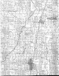 Hillsdale Michigan Map by History Waldron And Wright Township Michigan