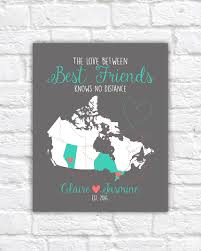 Canada Provinces Map by Canada Map Best Friend Gift Canadian Provinces Ontario Alberta