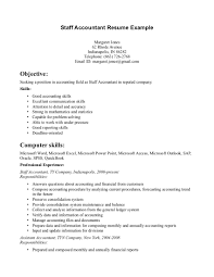 Professional Accounting Resume Templates Staff Accountant Sample Resume Resume Sample For Staff Accountant