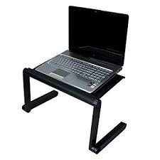 Bed Computer Desk Adjustable Vented Laptop Table Laptop Computer Desk