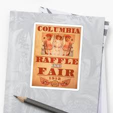 bioshock infinite u2013 columbia raffle and fair poster