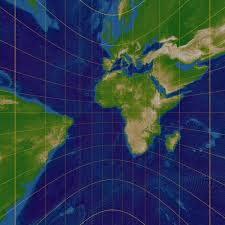 Azimuthal Map Get To Know A Projection Azimuthal Orthographic Wired