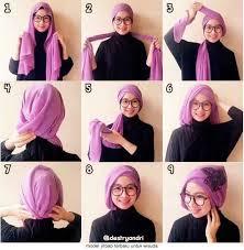 tutorial jilbab segi 4 untuk kebaya 10 tutorial hijab paris untuk wisuda meski sederhana kamu tetap