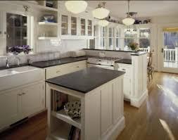 Philadelphia Soapstone Black Soapstone Kitchen With White Subway Tile Backsplash