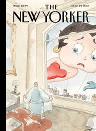 new yorker cover hits harassment theme at thanksgiving day parade