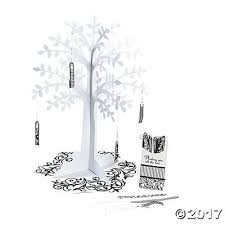 Tree Centerpiece U0026 White Wishing Tree Centerpiece