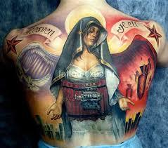 tattos josh women u0027s cool small cross tattoo on back this