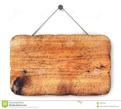 wood sign board on chain stock photo image 34382838