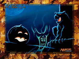 wallpaper of halloween wallpaper of the week halloween special 2004 magic the gathering