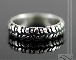 tire wedding rings tire tread ring etsy