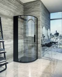 Corner Shower Stalls For Small Bathrooms by Best 25 Black Shower Ideas On Pinterest Concrete Bathroom