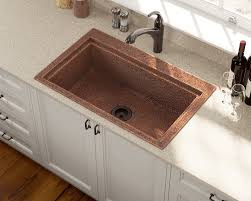 copper faucets kitchen stainless steel sinks and faucets for kitchens and baths
