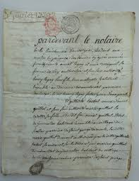 documents mariage documents archives acte mariage henry legay et guilhot 7