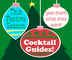 holiday cocktails clipart grade