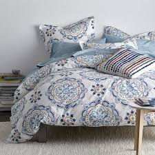 The Duvet And Pillow Company C Studio Carlotta Organic Percale Duvet Cover The Company Store