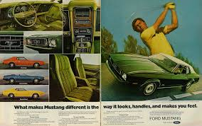 ford mustang ad 1972 ford mustang ad 2 page color advert what ma flickr