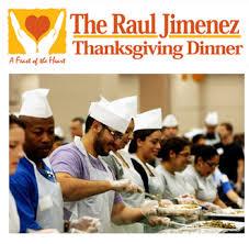 calling volunteers for the jimenez thanksgiving dinner ktsa