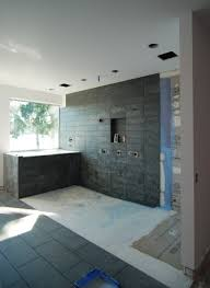 curbless shower design bath and design elements