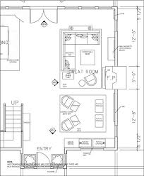 great room floor plans foster cranz autocad work