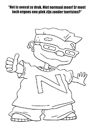 coloring page rocket power coloring pages 15