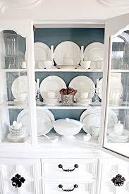 how to arrange a corner china cabinet pin on for the home