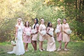 peach u0026 pink shabby chic country wedding joy u0026 jonny wedding colors