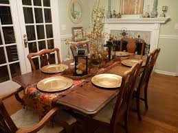 Traditional Dining Room Ideas Marvelous Brown Wooden Dining Table Decors With White Fireplace As