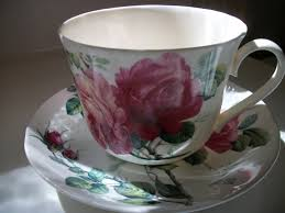 writing straight from the heart pink rose cup for martha and