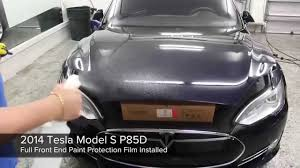 tesla windshield 2014 tesla model s p85d xpel ultimate paint protection window