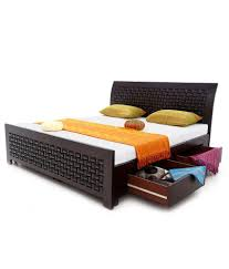 Cing Bed Frame King Bedding 100 Wooden Ottoman Beds Gfw Madrid Wooden Ottoman