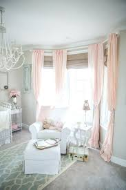 Nursery Pink Curtains Soft Pink Curtains Teawing Co