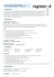 registered nurse sample resume template nursing curriculum vitae