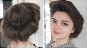 girl hair gibson girl hair tutorial historical hairstyling