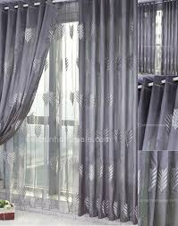 Cheap Grey Curtains Grey Curtains With Embroidery And Jacquard Living Room Curtain